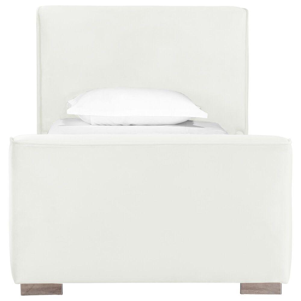 Tov Furniture Madison Twin Bed in Cream, , large