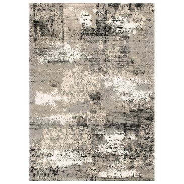 "Loloi Viera VR-04 5'3"" x 7'7"" Grey Area Rug, , large"