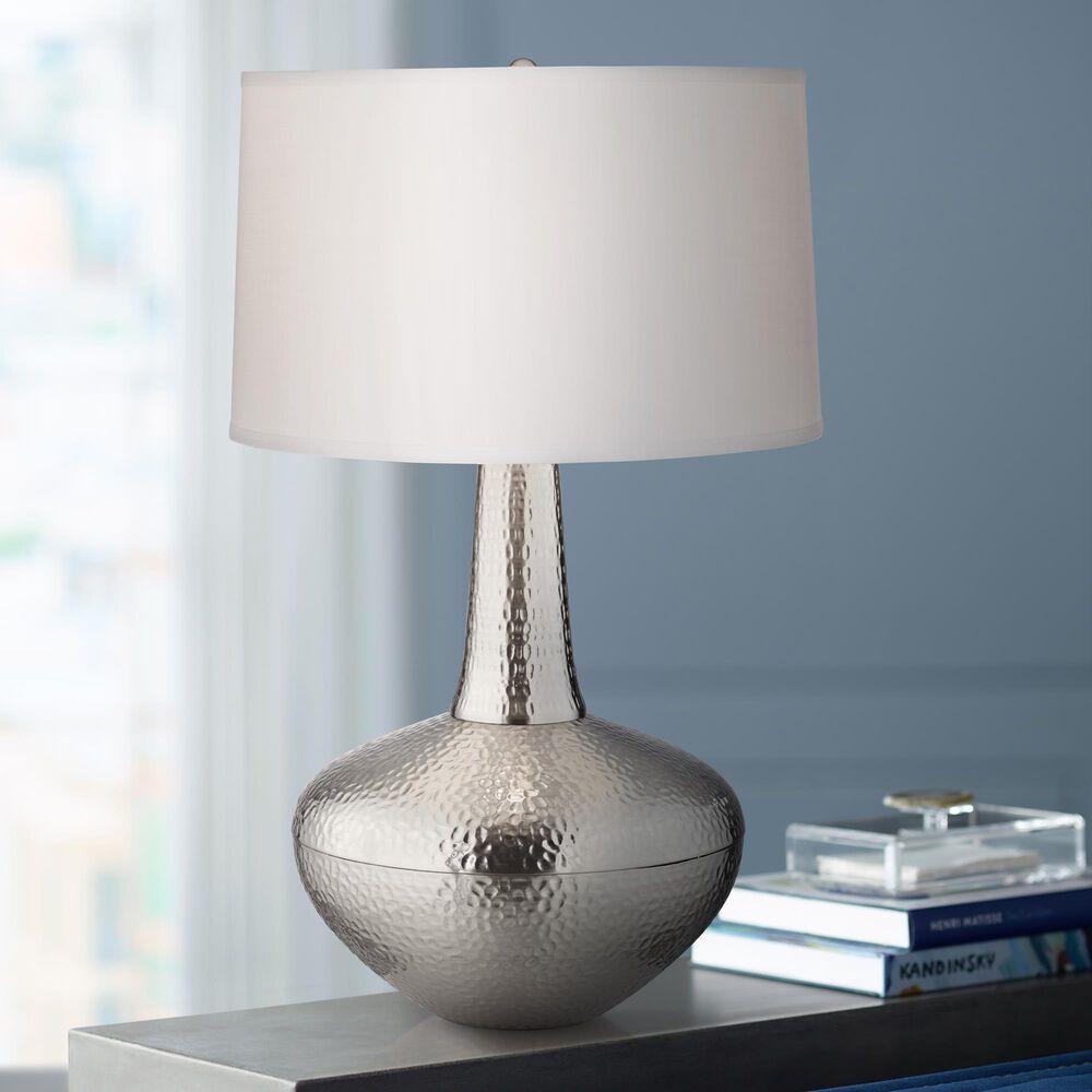 Pacific Coast Lighting Zarah Table Lamp in Old Nickel, , large