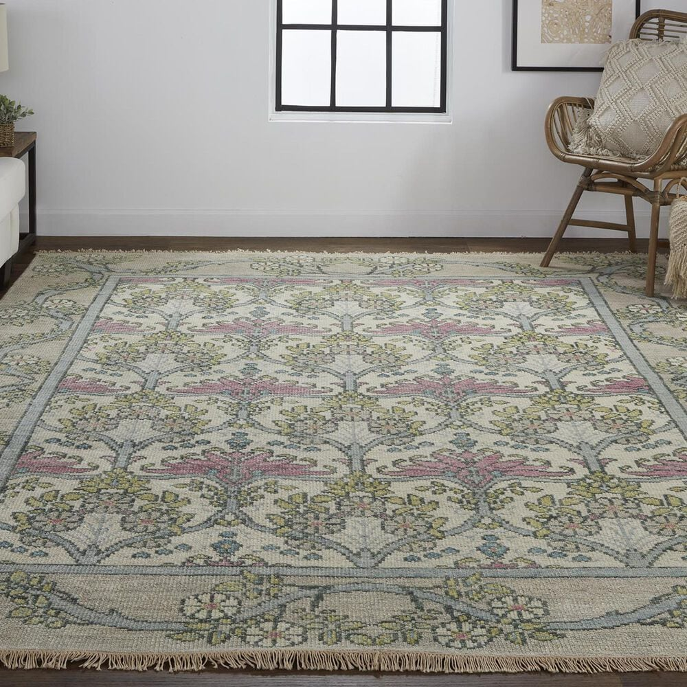 """Feizy Rugs Beall 5'6"""" x 8'6"""" Gray Area Rug, , large"""