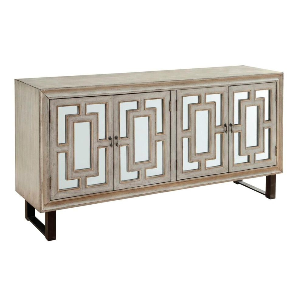 Shell Island Furniture Credenza in Garner Textured Cream, , large