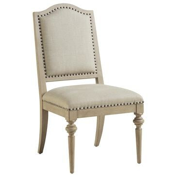 Barclay Butera Malibu Aiden Side Chair in Warm Taupe, , large