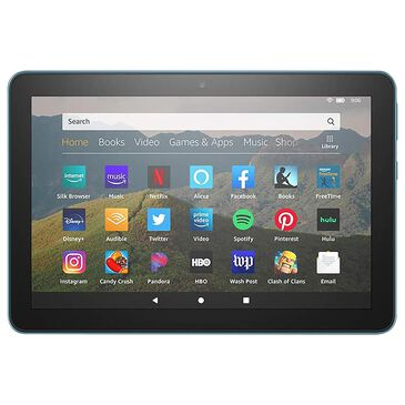 """Amazon Fire HD 8 Tablet 8"""" 32GB in Blue 