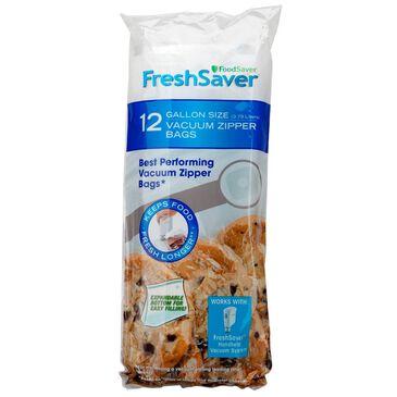 FoodSaver Vacuum Zipper 12 Gallon Bags, , large