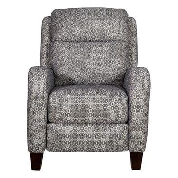 Southern Motion Prestige High Leg Power Recliner with Power Headrest in Denim, , large