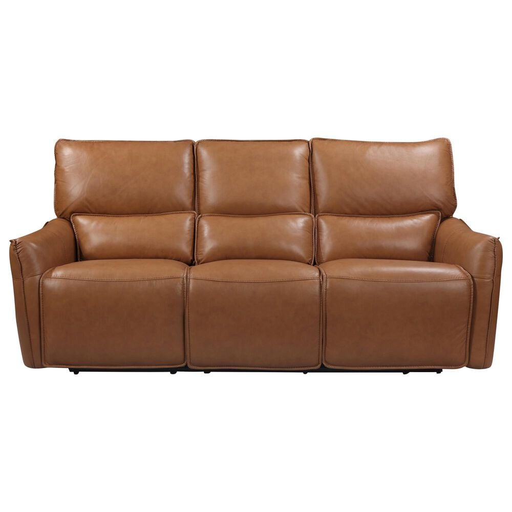 Italiano Furniture Shae Power Reclining Sofa with Headrest in Desert, , large