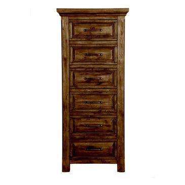 Napa Furniture Design Hill Crest 6 Drawer Lingerie Chest in Dark Chestnut, , large