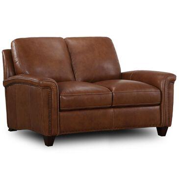 Sienna Designs Leather Loveseat in Tumbleweed, , large