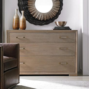 Lexington Furniture Shadow Play Barwick Hall Chest in Taupe and Gray, , large