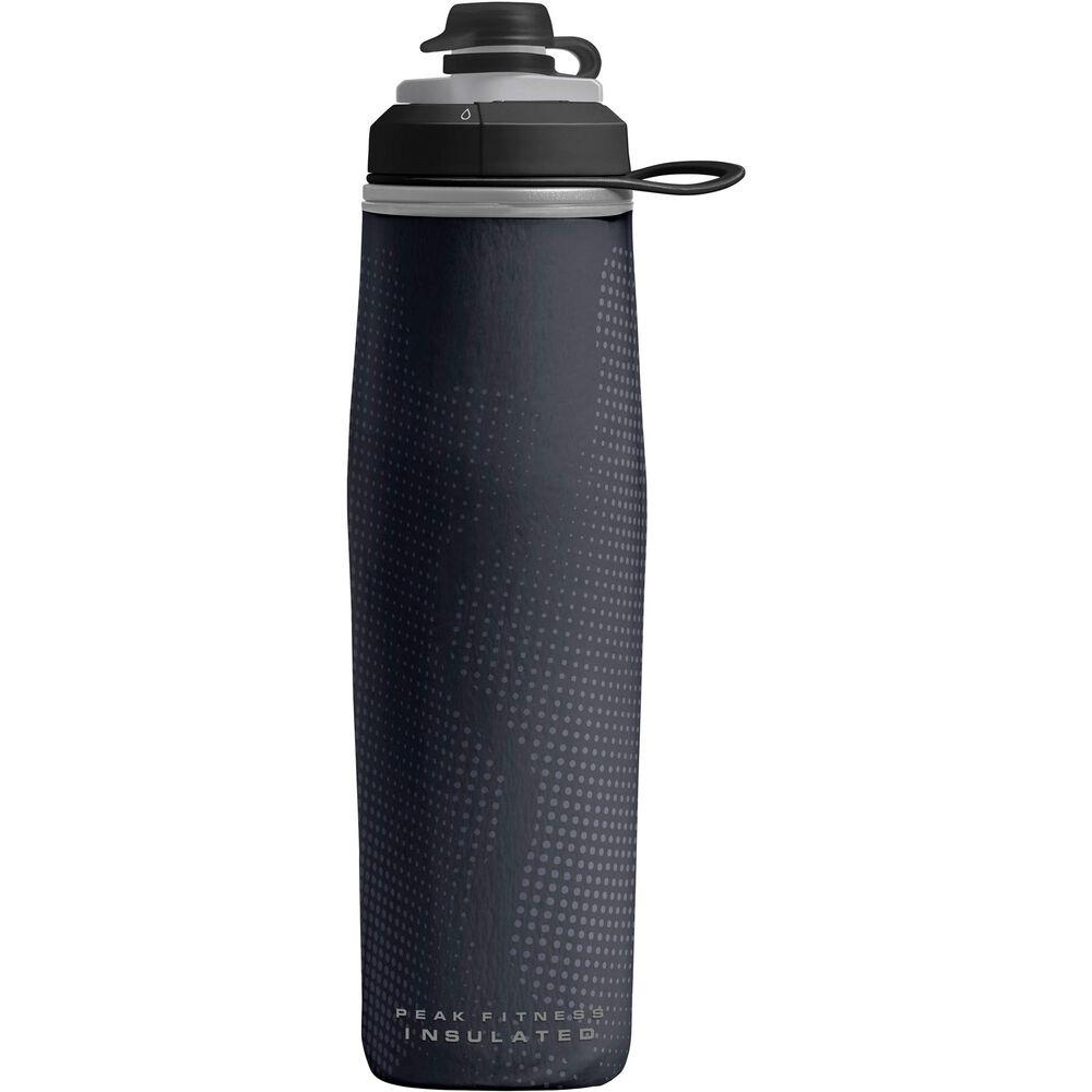 Camelbak Peak Fitness Chill 25 Oz Sport & Bike Bottle in Black/Silver , , large