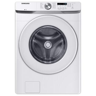 Samsung 4.5 Cu. Ft. Front Load Washer with Shallow Depth in White, , large