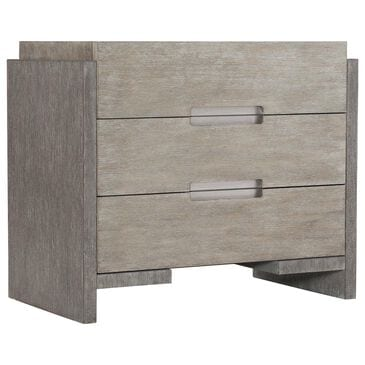 Bernhardt Foundations 3 Drawers Nightstand in Light Shale and Dark Shale, , large