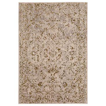 Karastan Axiom Chisel 92116-00527 8' x 10' Gold Area Rug, , large