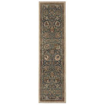 "Karastan Spice Market 90934-50130 2'4"" x 7'10"" Taprobana Sapphire Runner, , large"