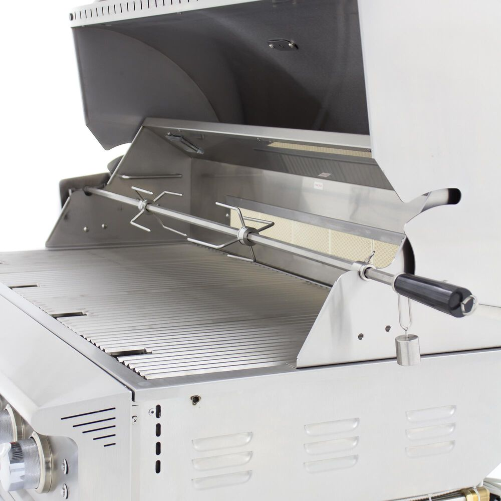 """Blaze 44"""" Professional Natural Gas Grill with 4-Burner in Stainless Steel, , large"""