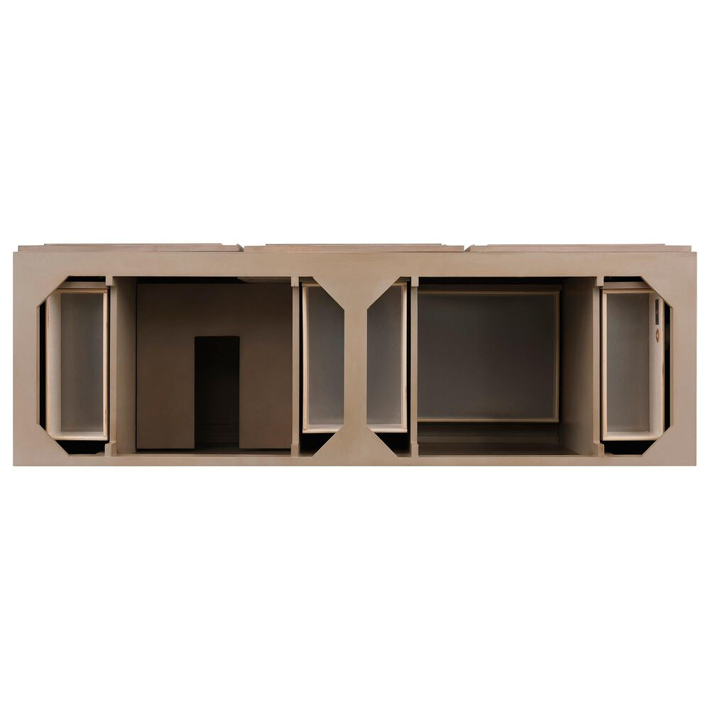 "James Martin Portland 72"" Double Vanity Cabinet in White Washed Walnut, , large"
