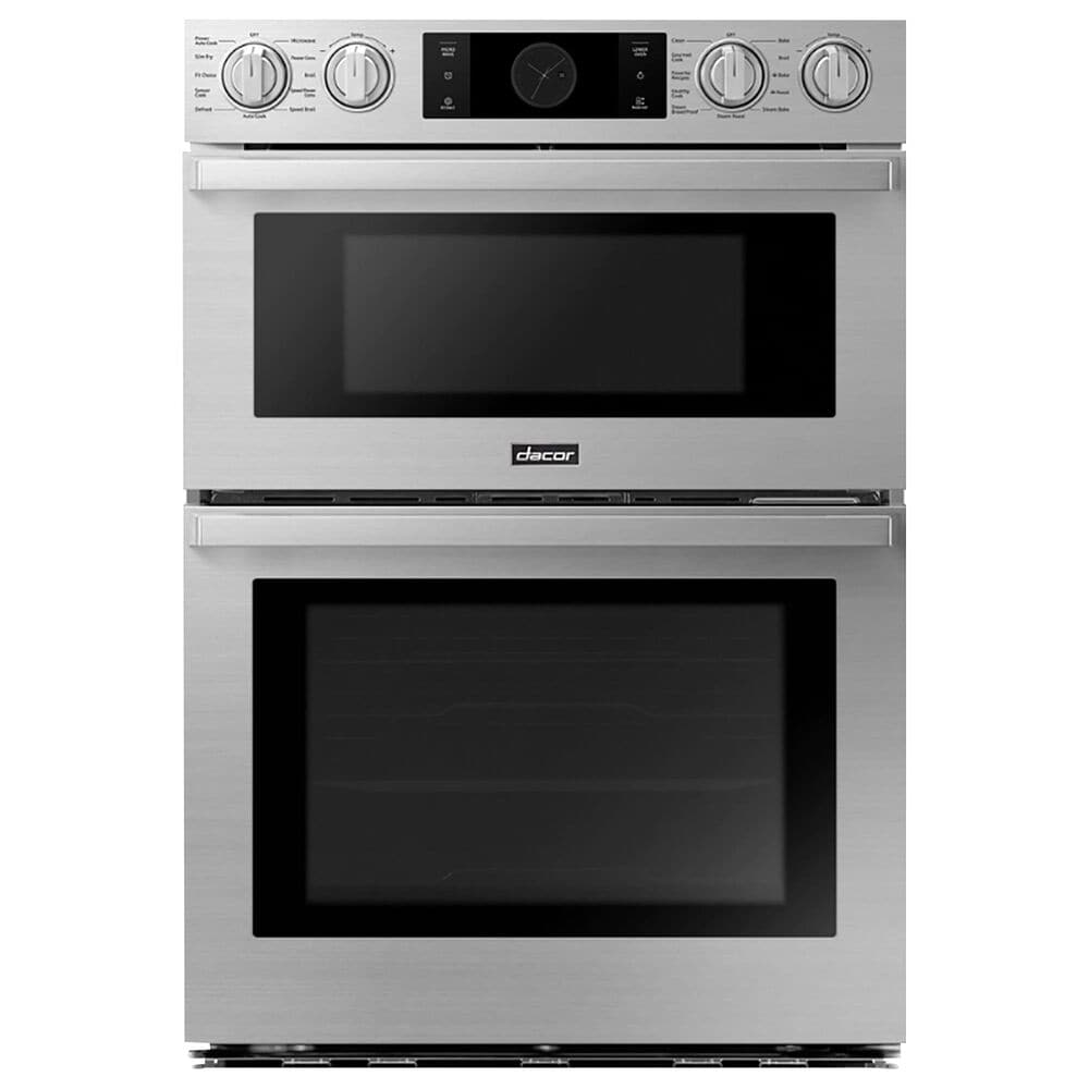 """Dacor 30"""" Combination Electric Wall Oven in Stainless Steel, , large"""