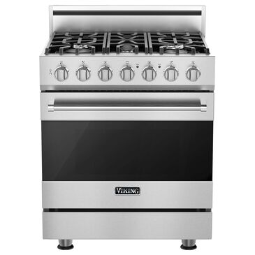 Viking Range 4.7 Cu. Ft. Dual Fuel Convection Freestanding Range in Stainless Steel, , large