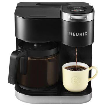Keurig K-Duo Single Serve and Carafe Coffee Maker in Black, , large