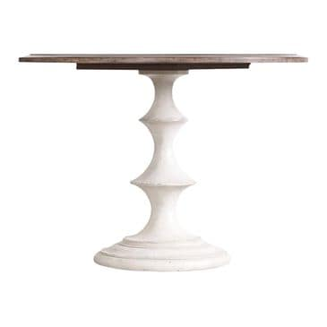 """Hooker Furniture Melange Brynlee 42"""" Table in Walnut and White - Table Only, , large"""