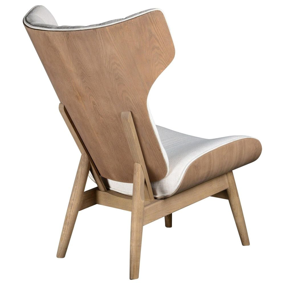 Southern Lighting Nashville Accent Chair in Cotton Boll and Natural Finish, , large