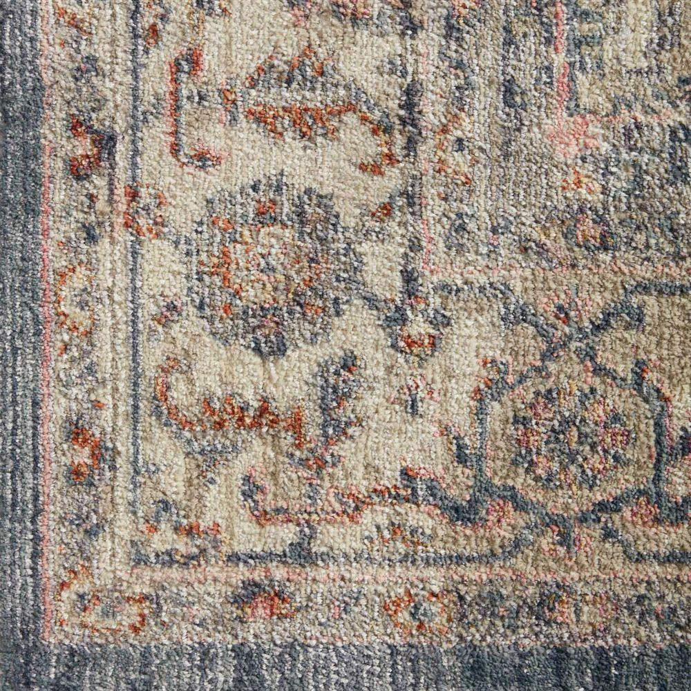 """Magnolia Home Janey JAY-03 3'11"""" Round Indigo Area Rug, , large"""