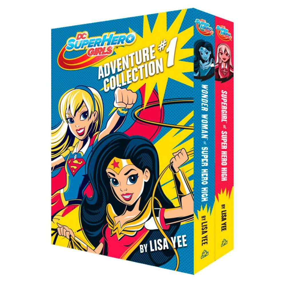 The DC Super Hero Girls Adventure Collection #1 , , large