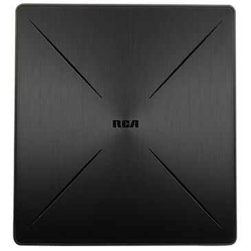RCA SLIVR Amplified Indoor Flat HDTV Antenna Multi Directional, , large