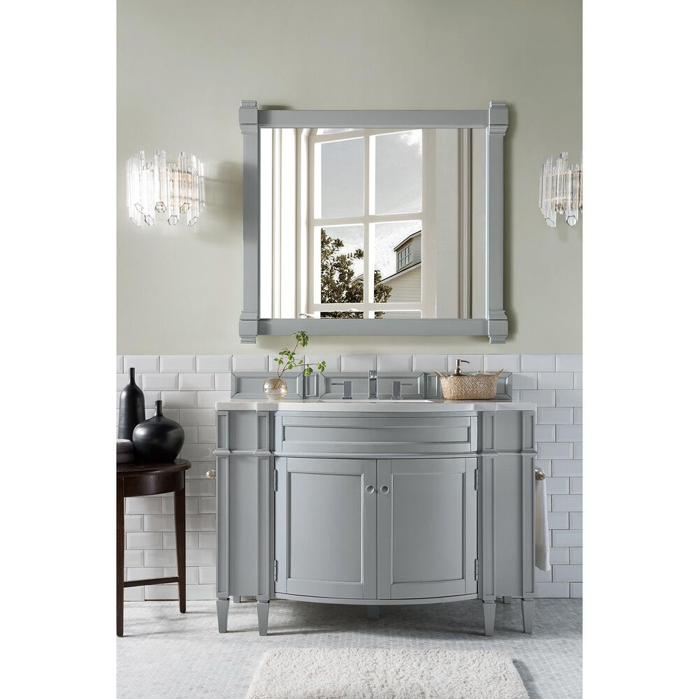 """James Martin Brittany 46"""" Single Vanity Cabinet in Urban Gray, , large"""
