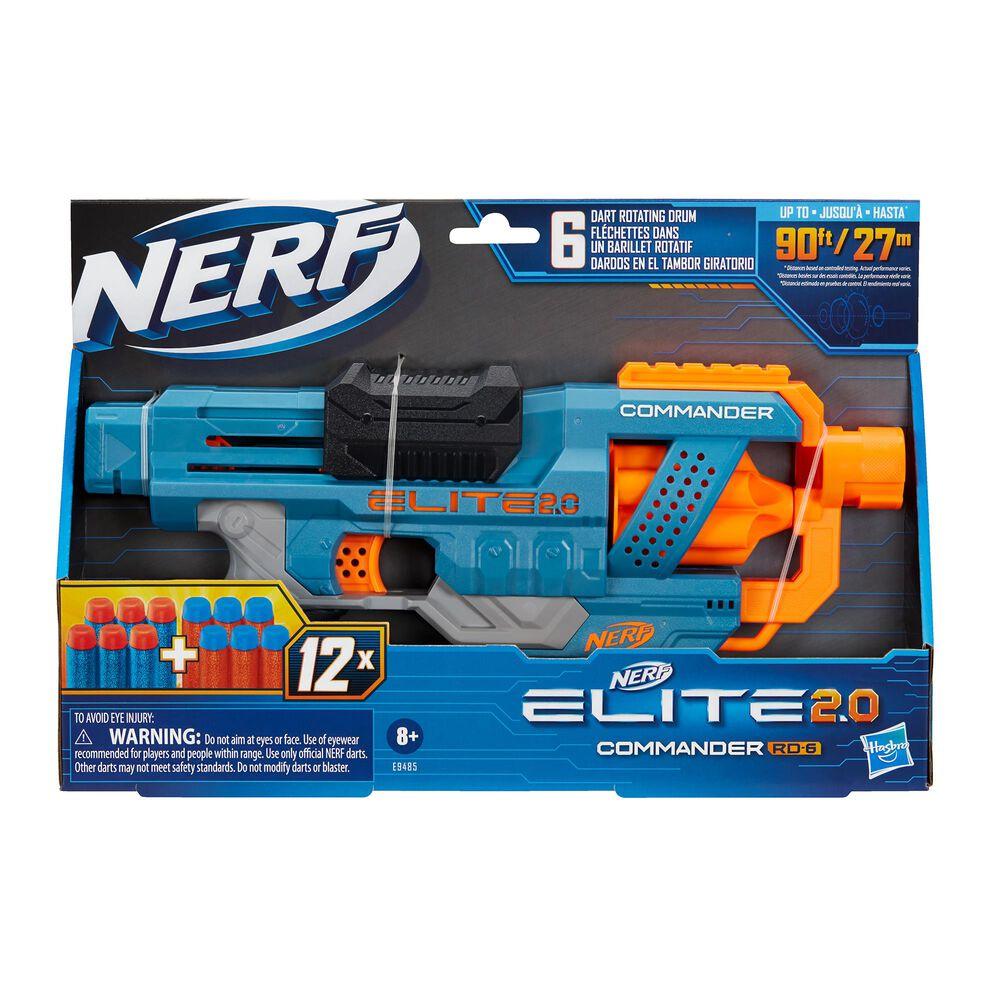 Hasbro Nerf Elite 2.0 Commander RD-6 Blaster, , large
