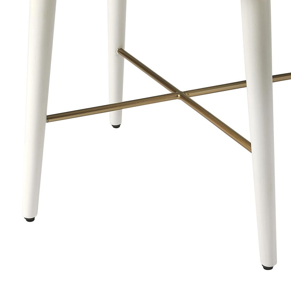 Butler Delridge End Table in White, , large