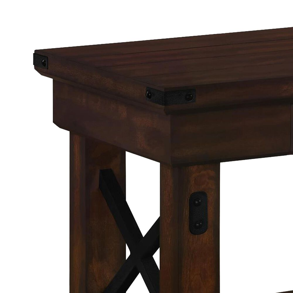 Ameriwood Furniture Wildwood Entryway Bench in Mahogany, , large