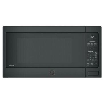 GE Profile 2.2 Cu. Ft. Countertop Sensor Microwave Oven in Black, , large