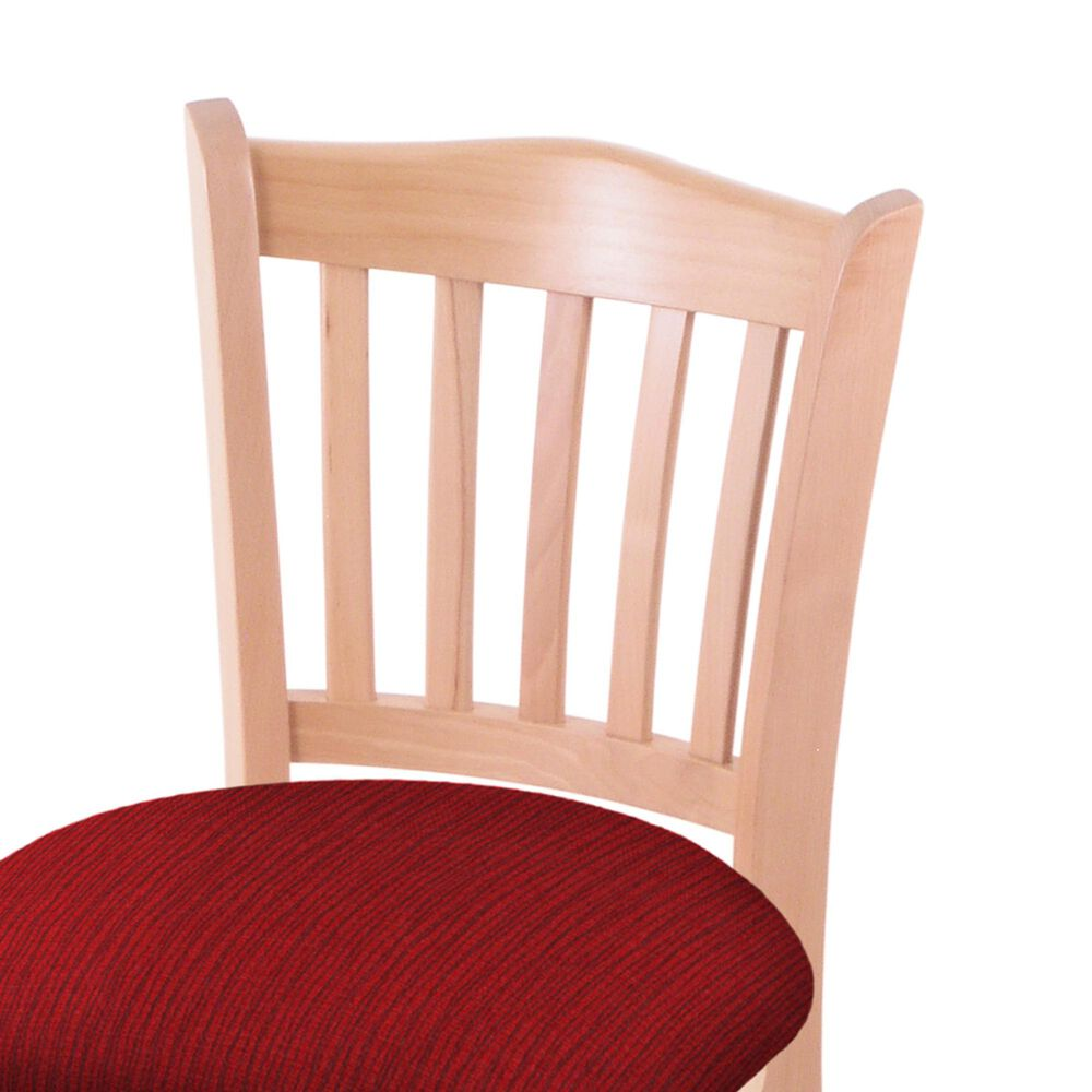 """Holland Bar Stool 3120 30"""" Bar Stool with Natural Finish and Graph Ruby Seat, , large"""