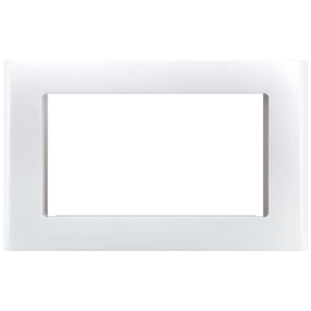 """Cafe 30"""" Built-In Microwave Trim Kit in White Matte , , large"""
