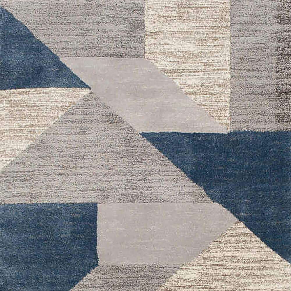 """Central Oriental Structures Torrent Adley 6252FM 6'6"""" x 9'6"""" Buff and Metal Area Rug, , large"""
