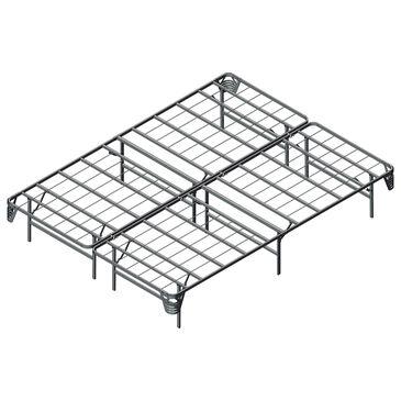 Furniture of America Pratt Cal King Bed Frame in Silver, , large