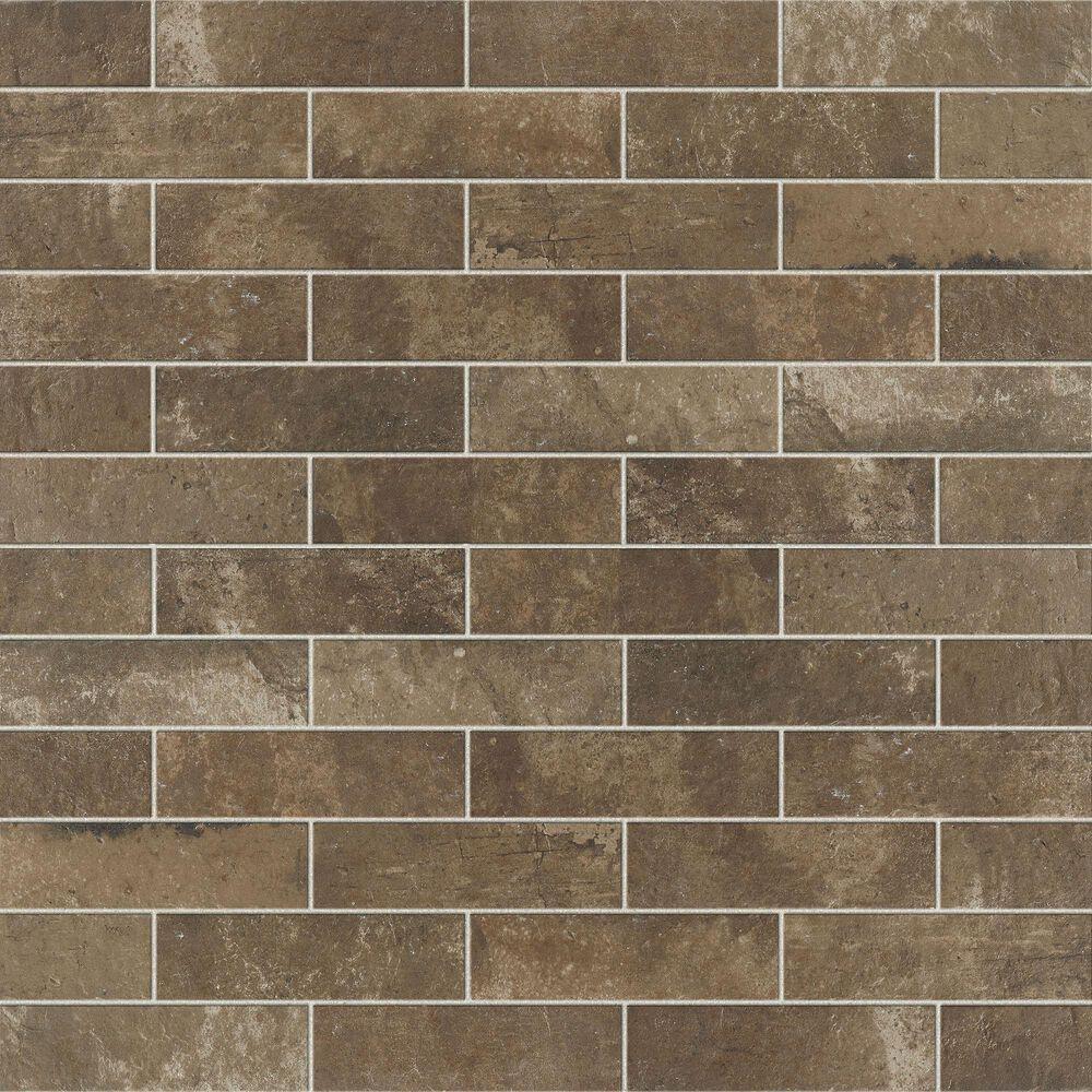 "Marazzi Urban District Brick Warehouse 2"" x 8"" Ceramic Tile, , large"