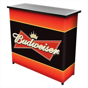 Timberlake Budweiser 2 Shelf Portable Bar, , large