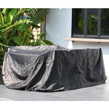 International Home Miami Amazonia Rectangle Patio Dining Cover in Blue, , large