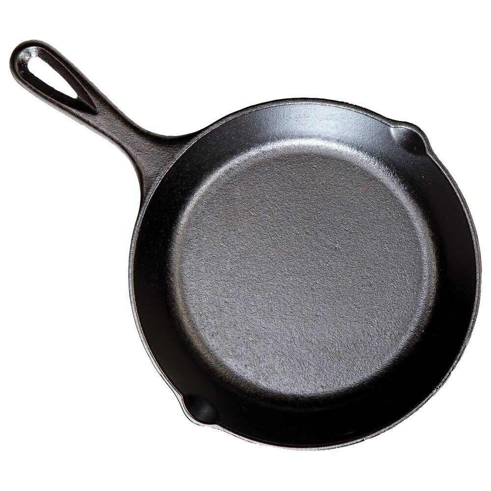 "Lodge Cast Iron 8"" Cast Iron Skillet in Black, , large"