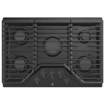"GE Appliances 30"" Built-In Gas Cooktop with 5 Burner in Black, , large"