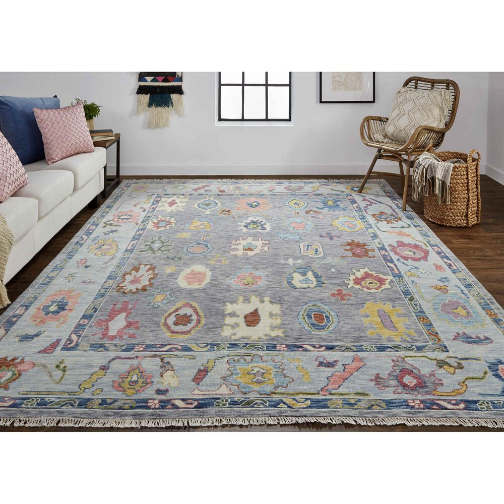 """Feizy Rugs Karina 3'6"""" x 5'6"""" Gray Area Rug, , large"""