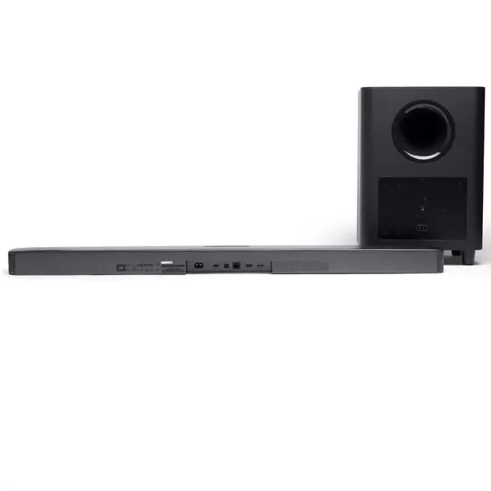 JBL 5.1 Channel Soundbar and Wireless Subwoofer System in Black, , large