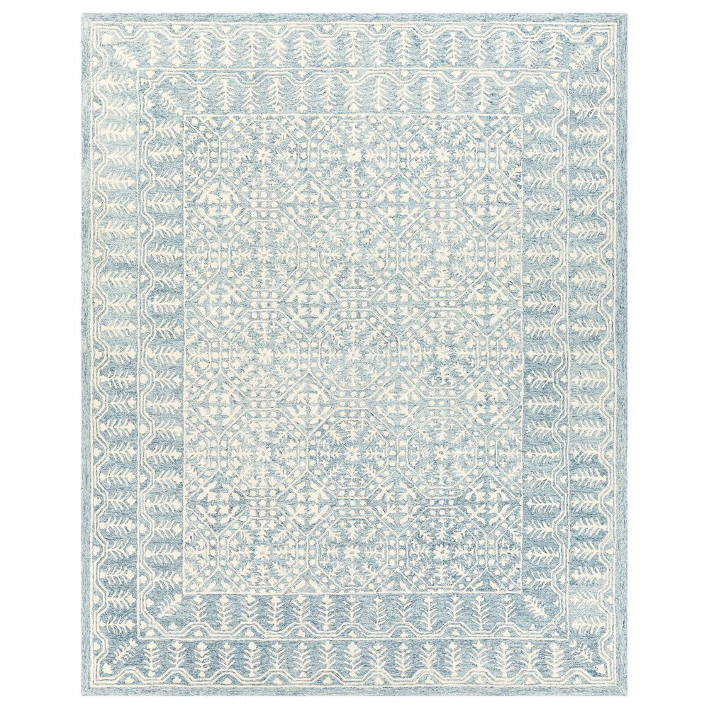 Surya Granada GND-2316 8' x 10' Pale Blue, Beige and Sky Blue Area Rug, , large