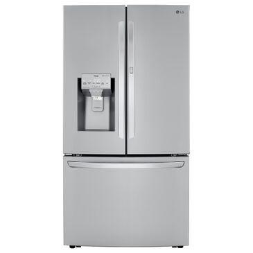 LG 30 Cu. Ft. Door-in-Door French Door Refrigerator with Craft Ice in PrintProof Stainless Steel, , large