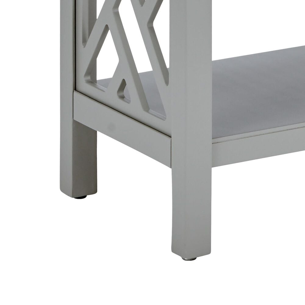 "Bolton Furniture Coventry 32"" Console Table in Gray, , large"