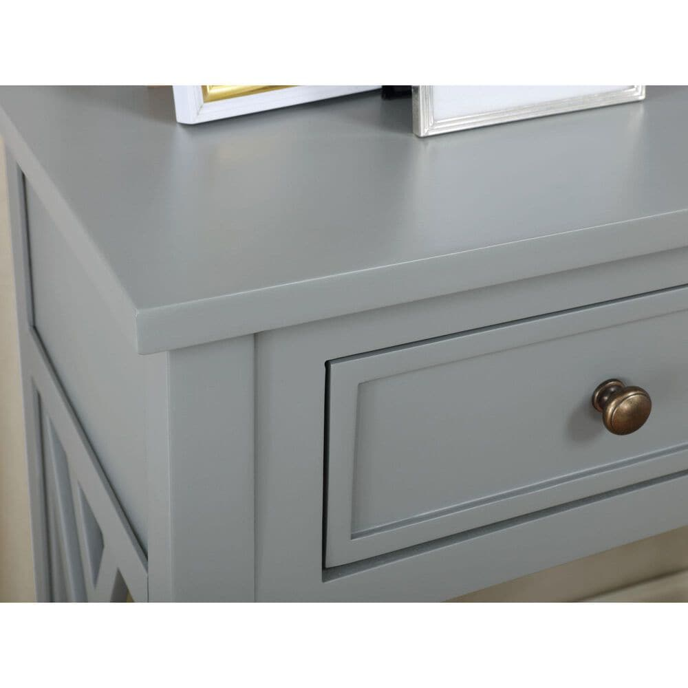 """Bolton Furniture Coventry 32"""" Console Table in Gray, , large"""
