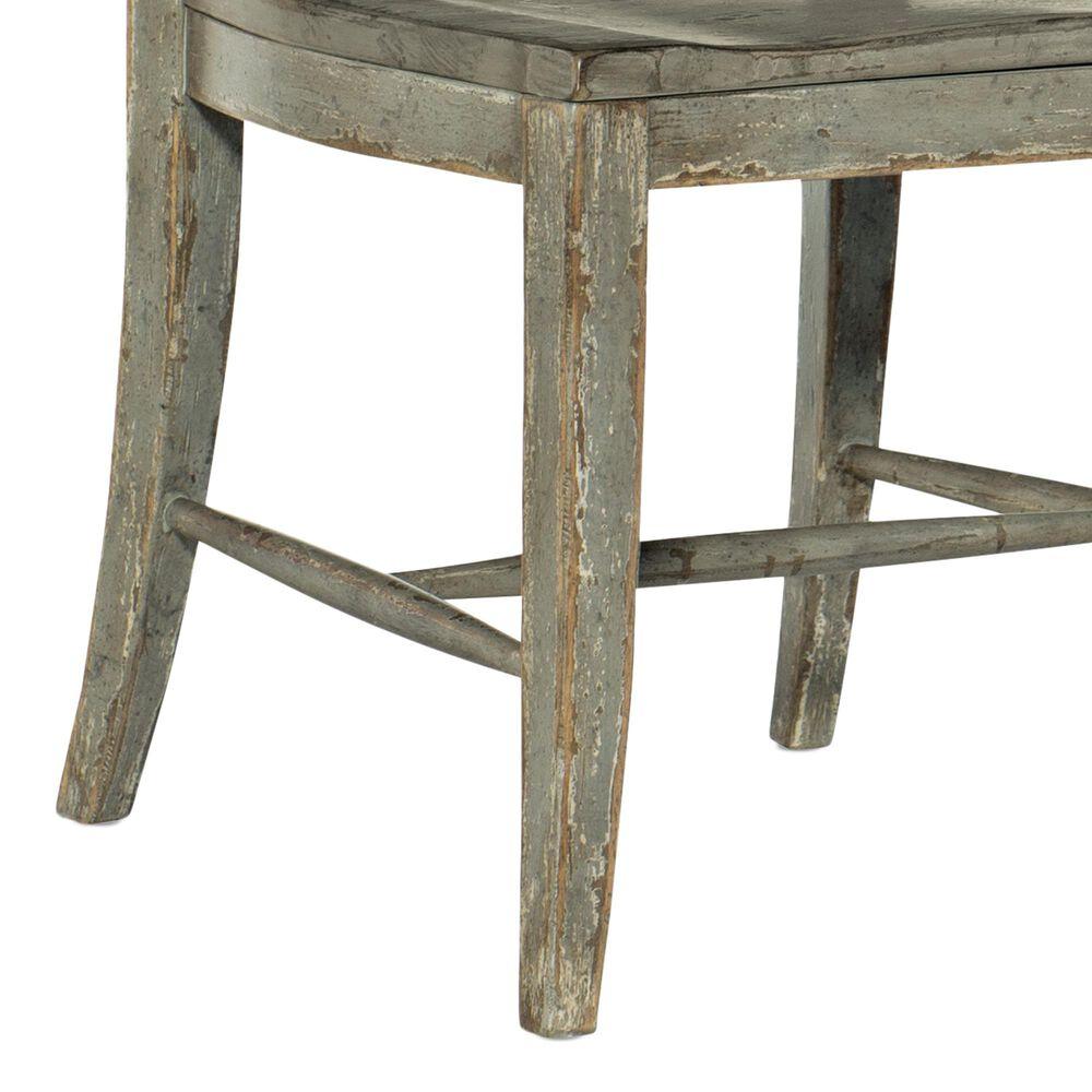 Hooker Furniture Alfresco Ladder Back Side Chair in Gray, , large