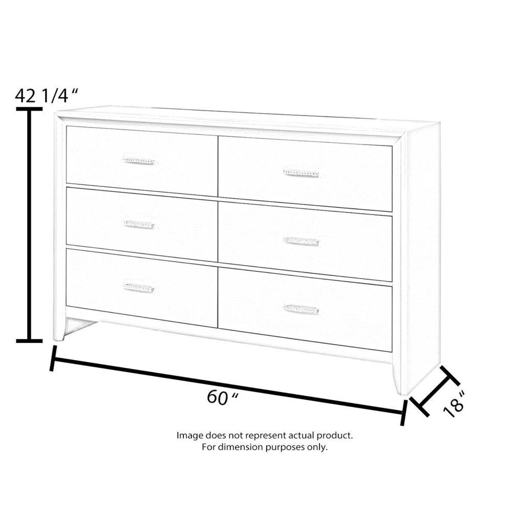 Hooker Furniture Studio 7H 7-Drawer Sans Serif Dresser in Walnut, , large